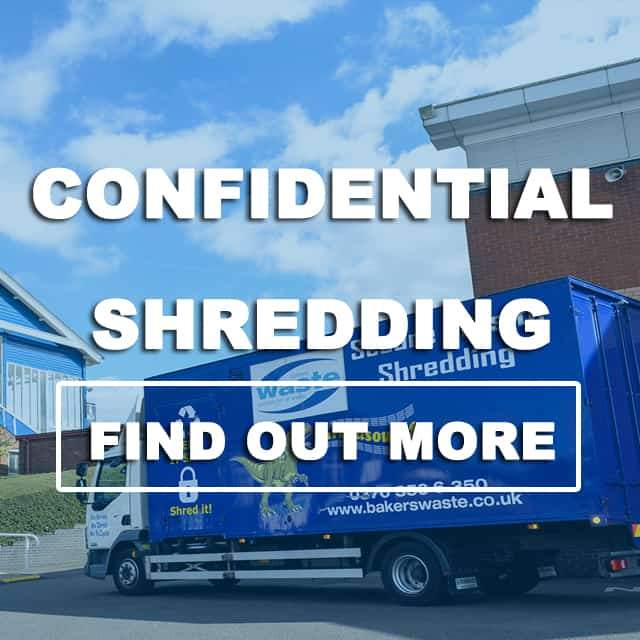 Confidential Shredding Button
