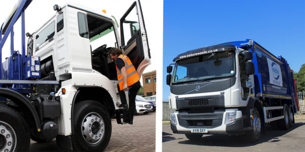 Bakers Waste Add Two Volvo Trade Waste Vehicles & MAN RollOnOff