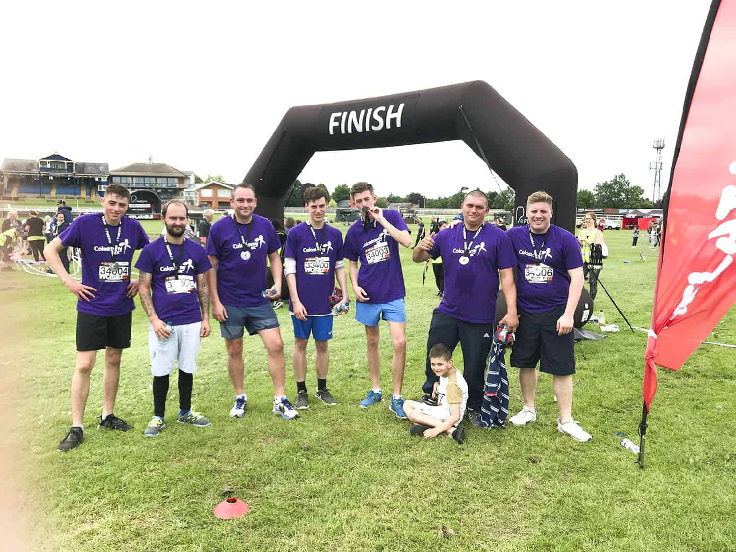 5k obstacle run