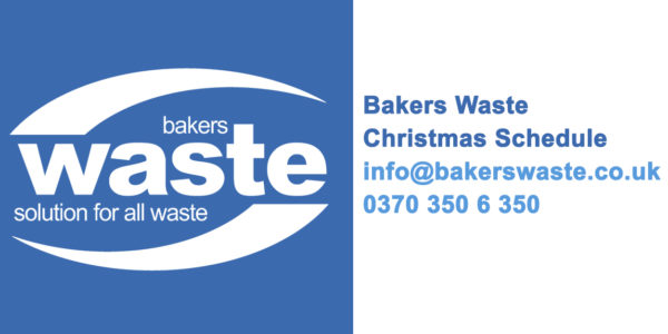 Your Bakers Waste Christmas Schedule 2018