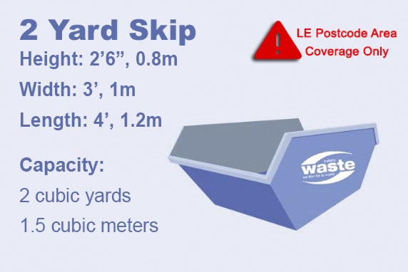 2 Yard Skip Product Graphic