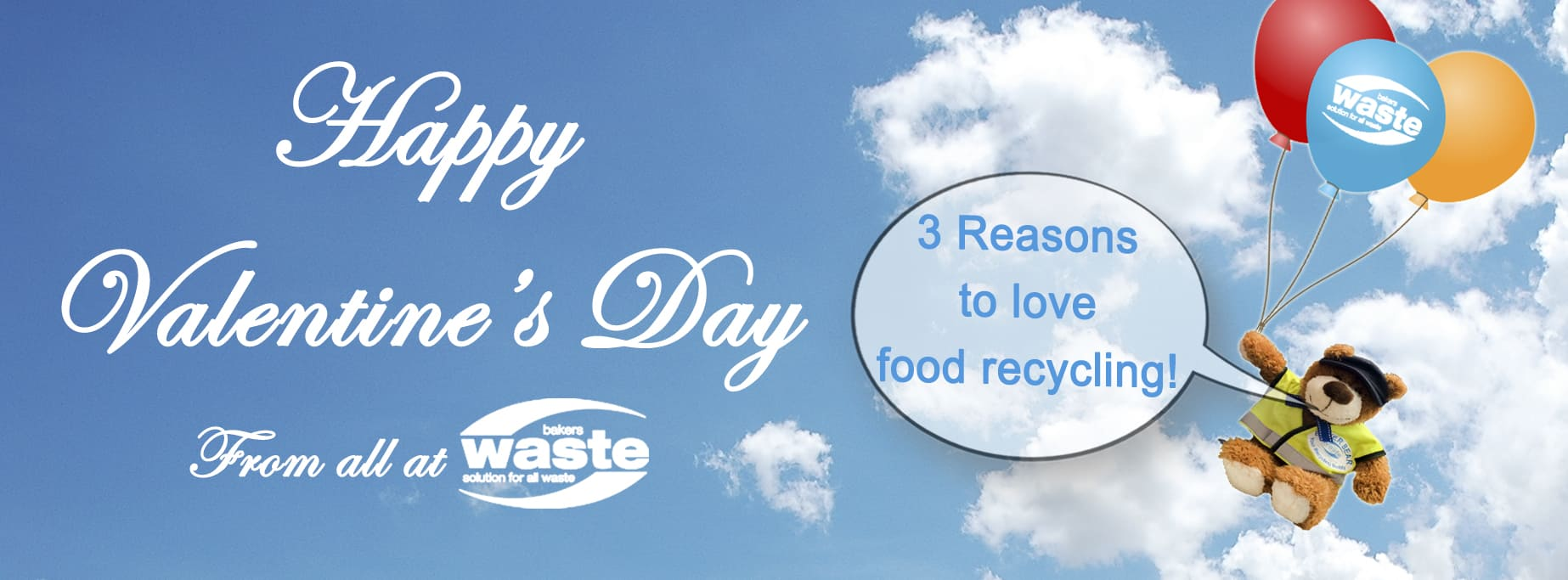 Valentine's Day 2017 - Love Food Recycling