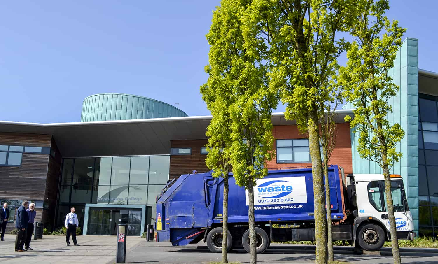 Trade Refuse Vehicle Donated To Stephenson College
