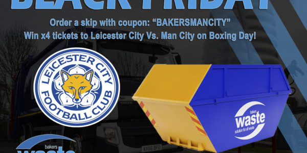 Win Four Tickets To Leicester City Vs Manchester City: Black Friday