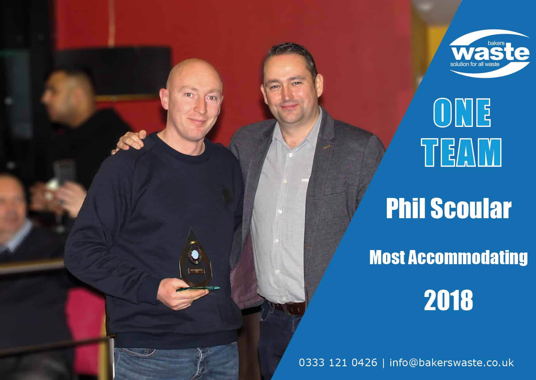 phil scoular- most accommodating