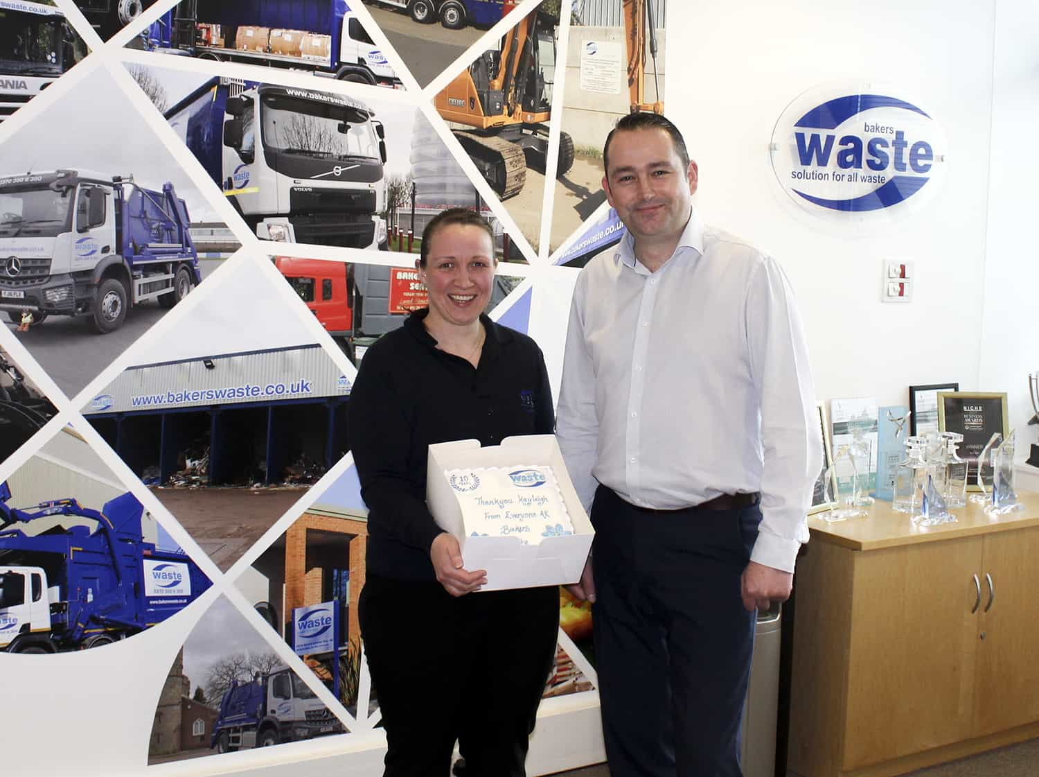 Kayleigh Pope 10 Year Anniversary With Bakers Waste