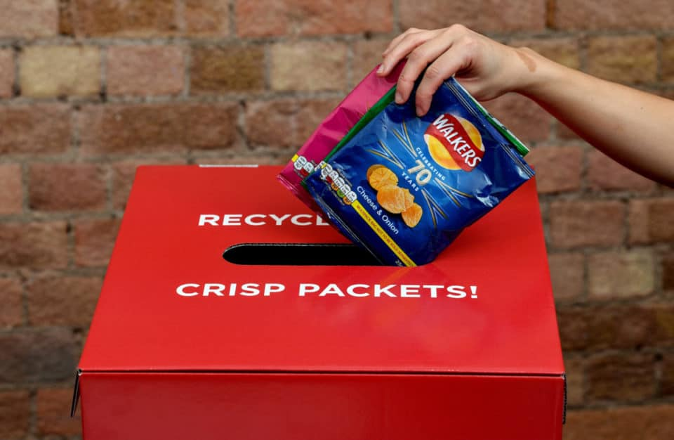 Walkers Crips Recycling