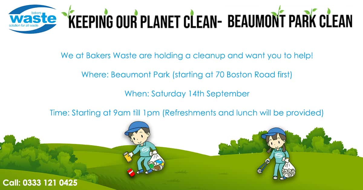 Keeping Beaumont Park Clean