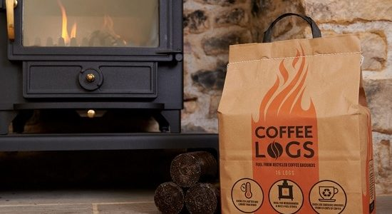 London Stansted Turns Coffee Waste Into Solid Biofuels