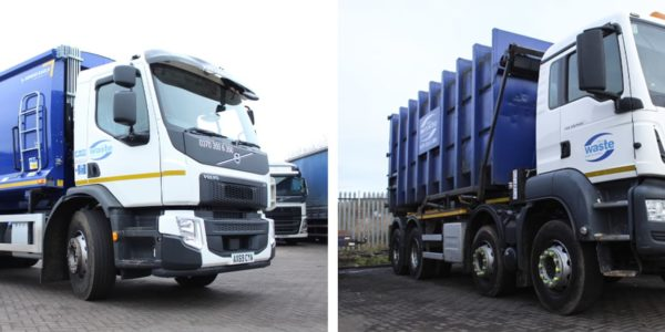 New Investment: Two New Commercial Waste Trucks