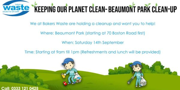 Bakers Waste Charity Litter Picking