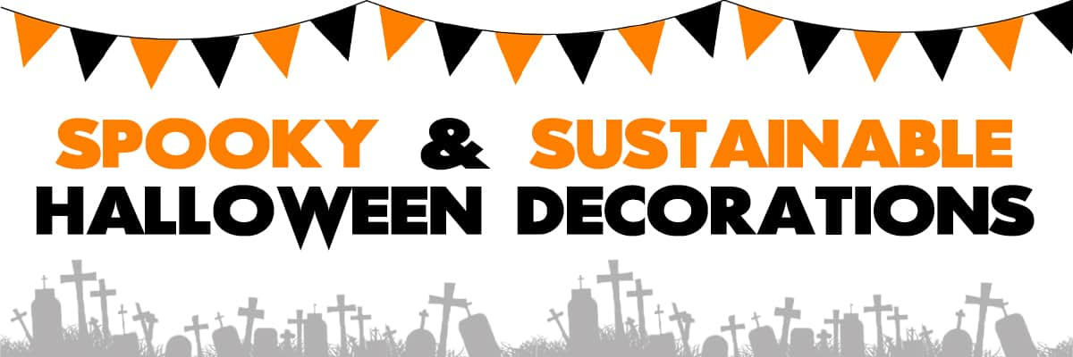 Spooky & Sustainable Decor